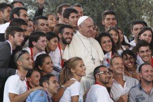 Pope-with-Sardinains